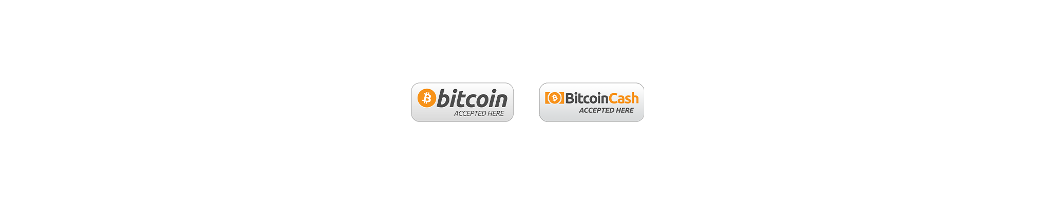 Bitcoin and Bitcoin Cash Cryptocurrency accepted here